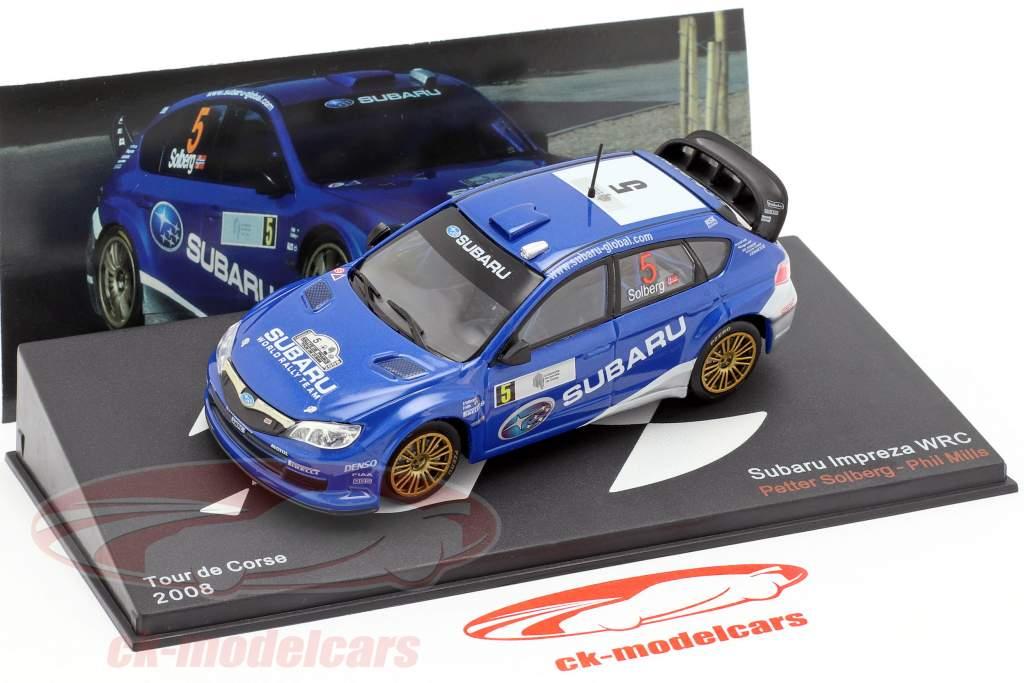 Subaru Impreza WRC #5 5 ° Rallye Tour de Corse 2008 Solberg, Mills 1:43 Altaya