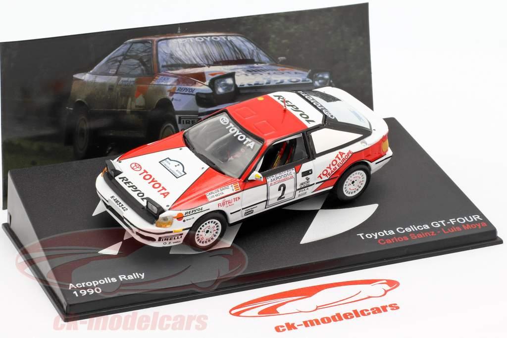 Toyota Celica GT-4 (ST165) #2 Winner Akropolis Rallye 1990 Sainz, Moya 1:43 Altaya