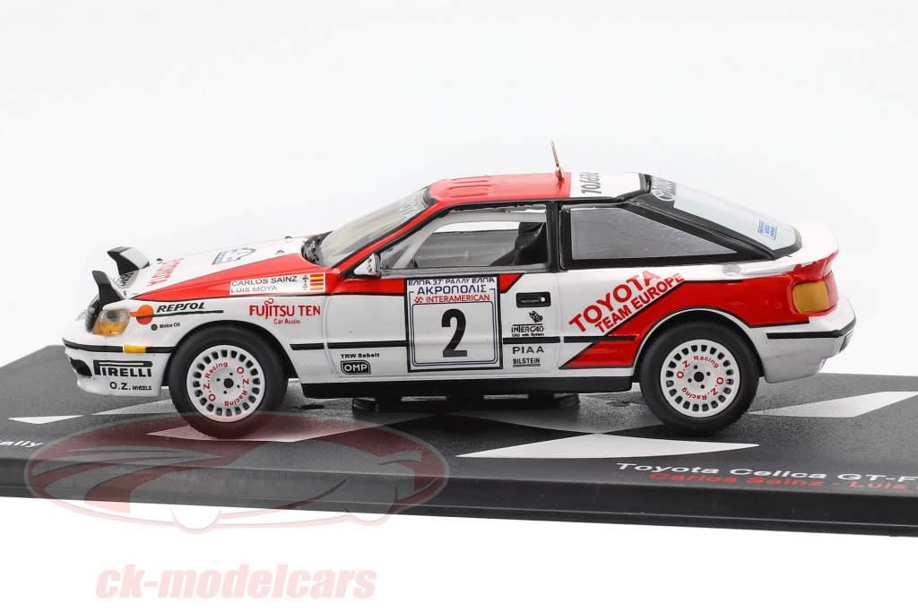Toyota Celica GT-4 (ST165) #2 winnaar acropolis Rallye 1990 Sainz, Moya 1:43 Altaya