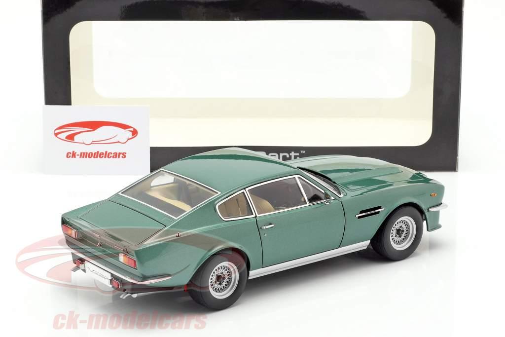 Aston Martin V8 Vantage år 1985 grøn 1:18 AUTOart