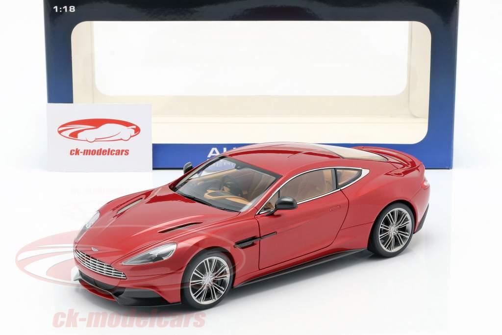 Aston Martin Vanquish año 2015 volcán rojo 1:18 AUTOart
