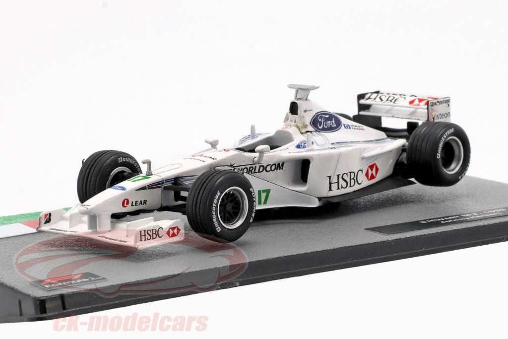 Johnny Herbert Stewart SF3 #17 formule 1 1999 1:43 Altaya