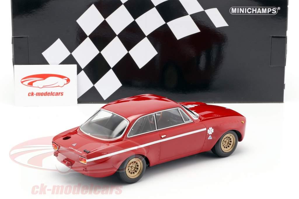 Alfa Romeo GTA 1300 Junior año de construcción 1971 rojo 1:18 Minichamps