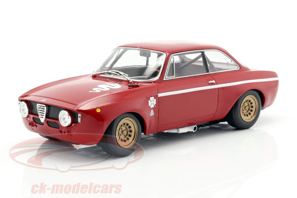 Alfa Romeo GTA 1300 Junior anno di costruzione 1971 rosso 1:18 Minichamps