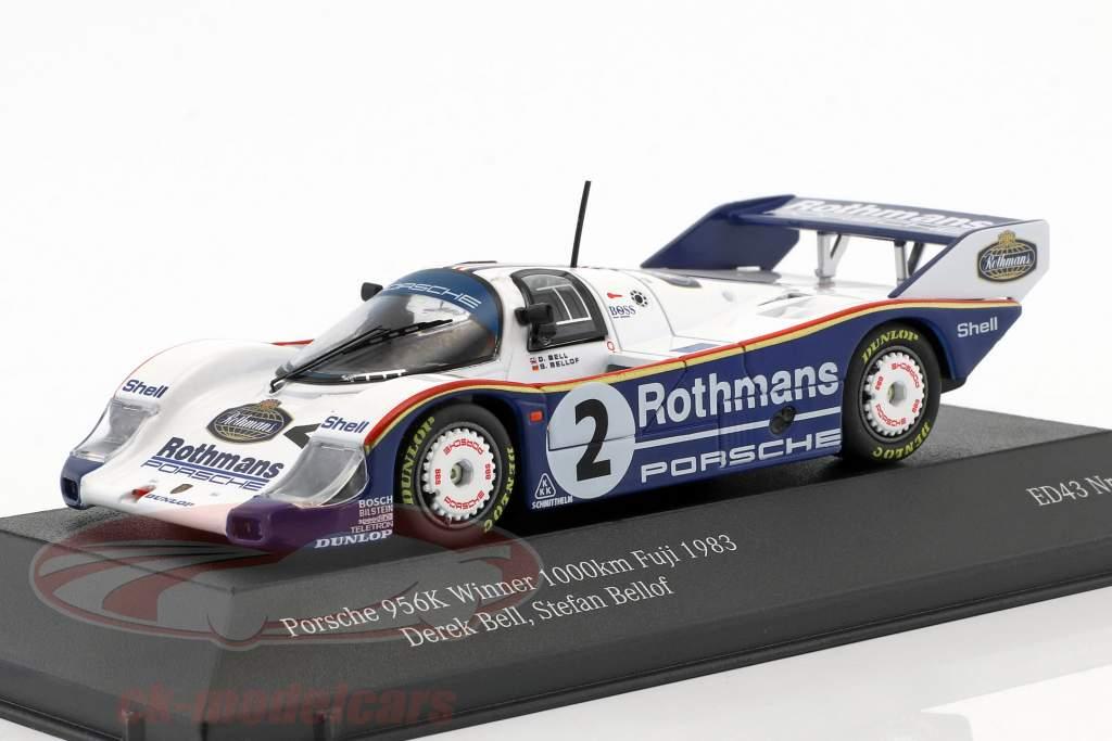 Porsche 956 K #2 ganador 1000km Fuji 1983 Bellof, Bell 1:43 CMR