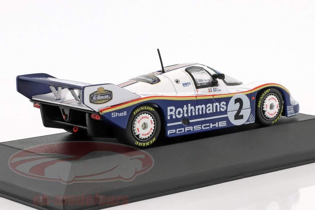 Porsche 956 K #2 gagnant 1000km Fuji 1983 Bellof, Bell 1:43 CMR