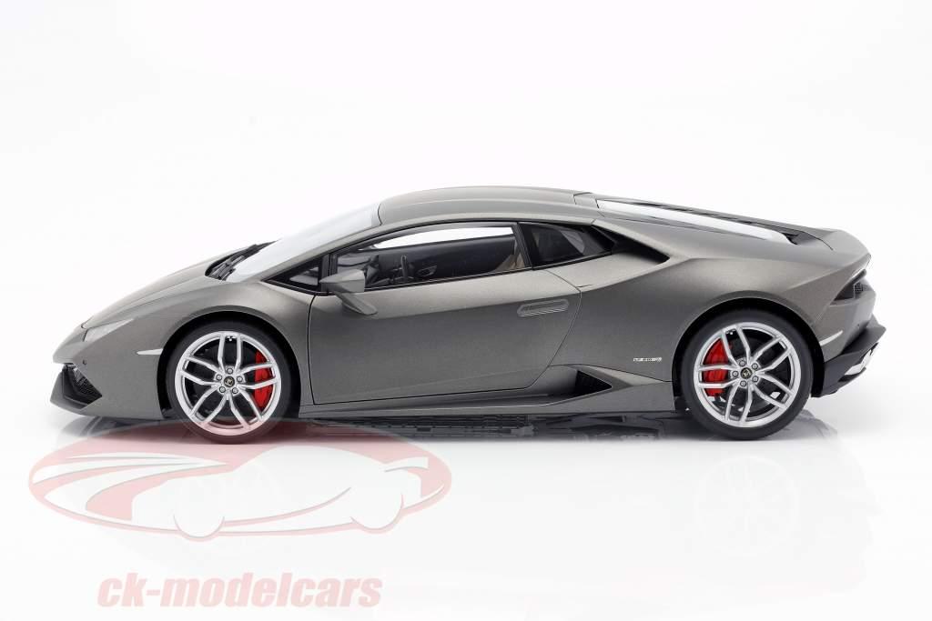 Lamborghini Huracan LP610-4 Baujahr 2014 titan matt grau 1:12 AUTOart