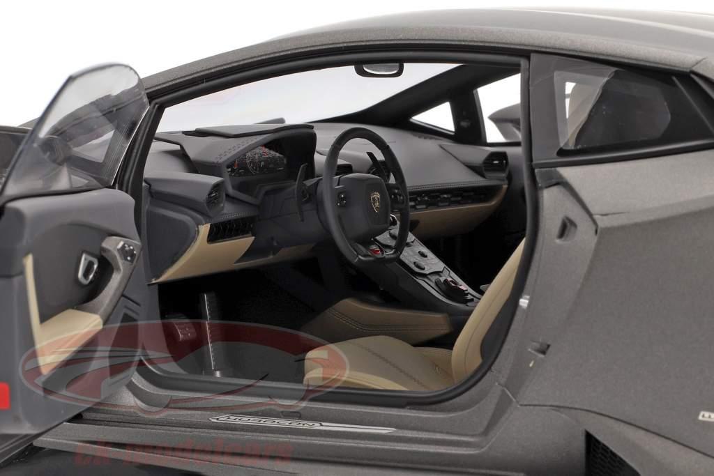Lamborghini Huracan LP610-4 Anno 2014 titanio opaco grigio 1:12 AUTOart