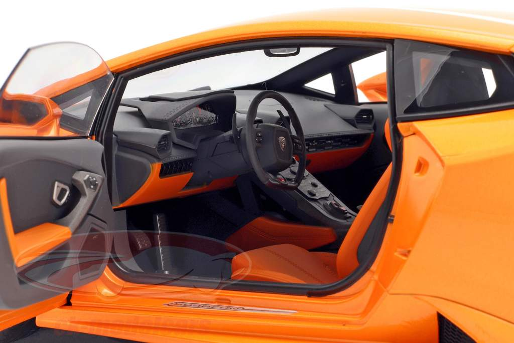 Lamborghini Huracan LP610-4 année 2014 borealis orange 1:12 AUTOart