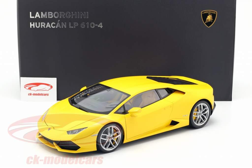 Lamborghini Huracan LP 610-4 année 2014 jaune 1:12 AUTOart