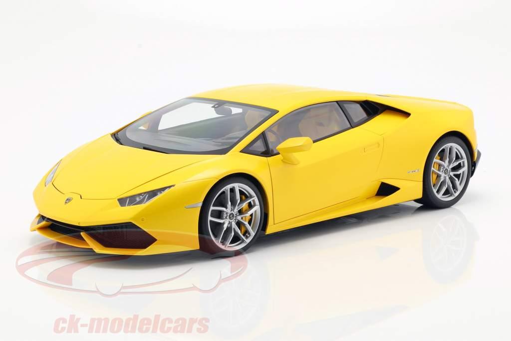 Lamborghini Huracan LP 610-4 Year 2014 yellow 1:12 AUTOart