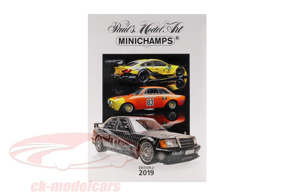 Minichamps catalogus editie 2 2019