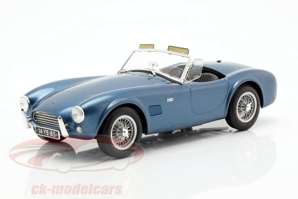 AC Cobra 289 Spider Baujahr 1963 blau metallic 1:18 Norev