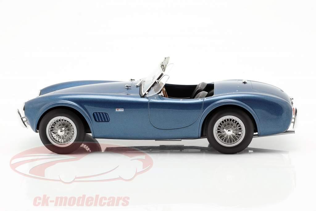AC Cobra 289 Spider anno di costruzione 1963 blu metallico 1:18 Norev