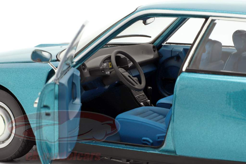 Citroen CX 2000 Opførselsår 1974 Delta blå metallisk 1:18 Norev
