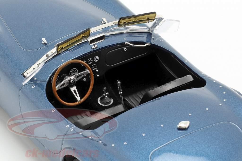 AC Cobra 289 Spider year 1963 blue metallic 1:18 Norev