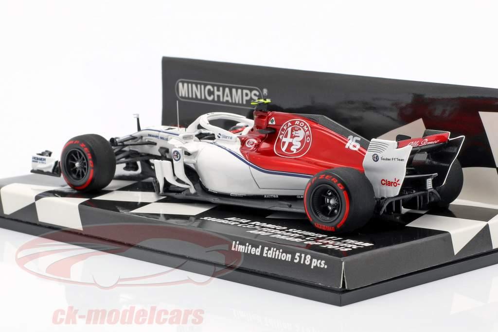 Charles Leclerc Sauber C37 #16 Abu dhabi GP formule 1 2018 1:43 Minichamps