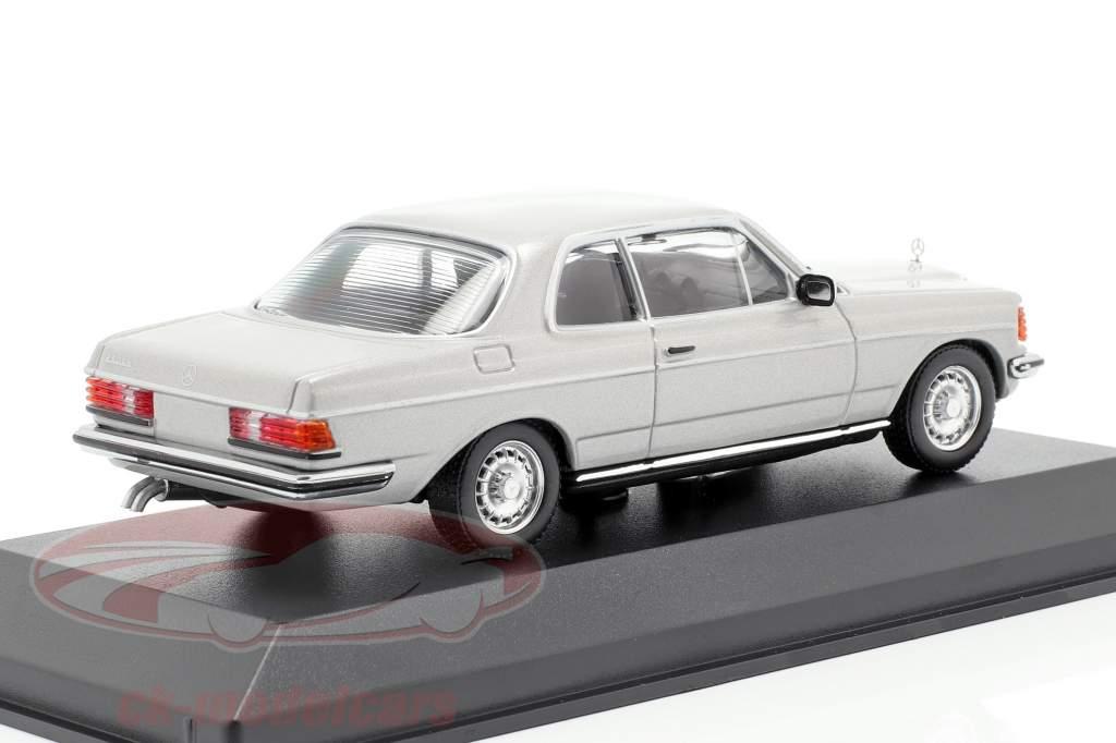 Mercedes-Benz 280 CE (W123) Baujahr 1976 astralsilber metallic 1:43 Minichamps