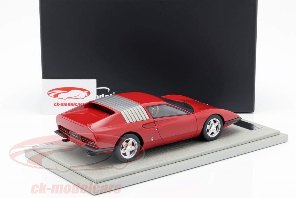 Ferrari P6 Pininfarina Prototyp Baujahr 1968 corsa rot 1:18 Tecnomodel