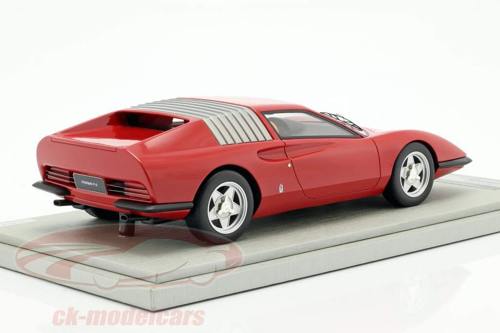Ferrari P6 Pininfarina prototype Opførselsår 1968 corsa rød 1:18 Tecnomodel