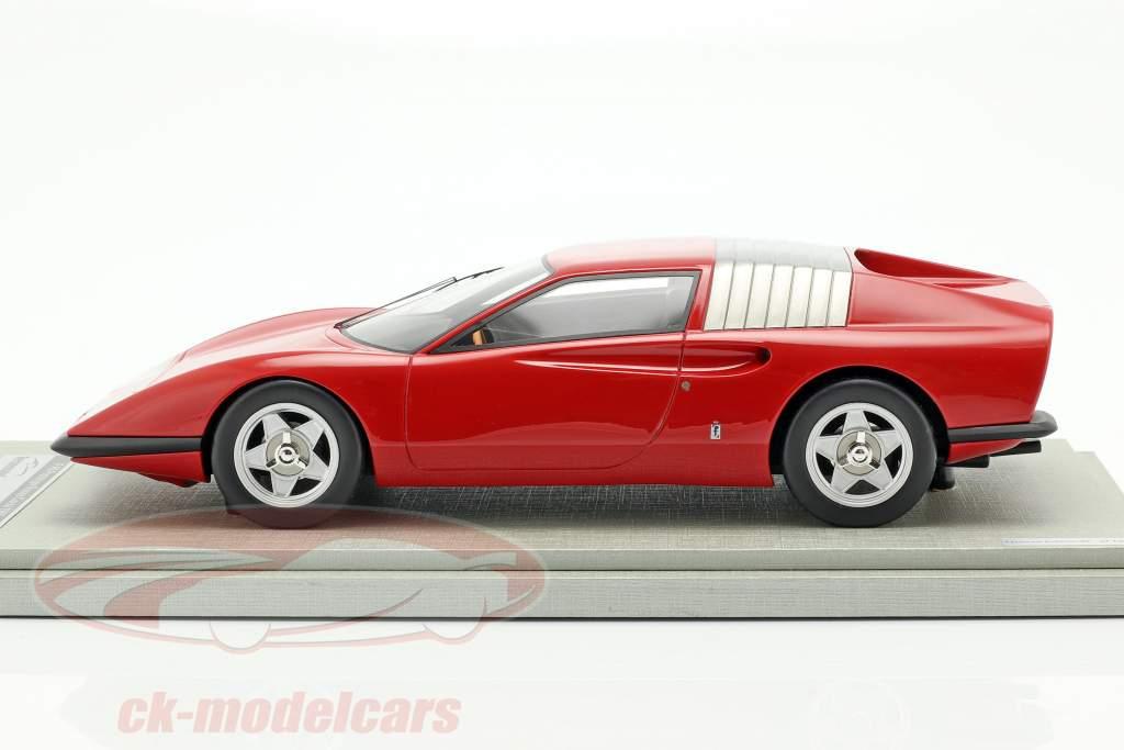 Ferrari P6 Pininfarina prototype Bouwjaar 1968 corsa rood 1:18 Tecnomodel