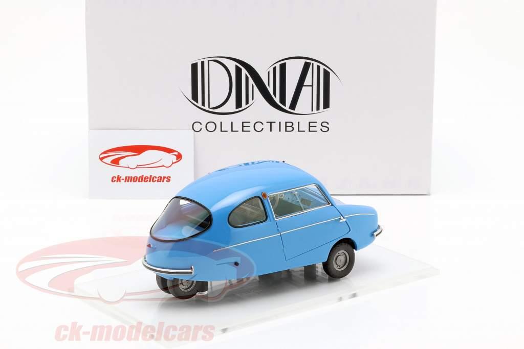 Fuldamobil S6 1956 blau 1:18 DNA08 Resin NEU OVP