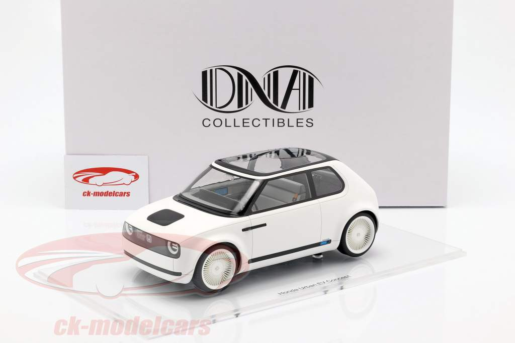 Honda Urban EV Concept Car 2017 mat white 1:18 DNA Collectibles