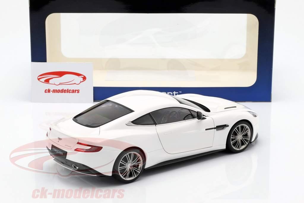 Aston Martin Vanquish año 2015 blanco 1:18 AUTOart