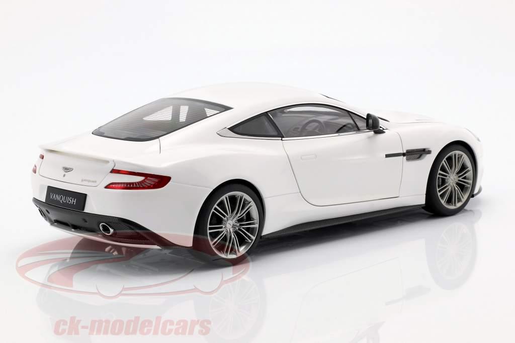 Aston Martin Vanquish ano 2015 branco 1:18 AUTOart