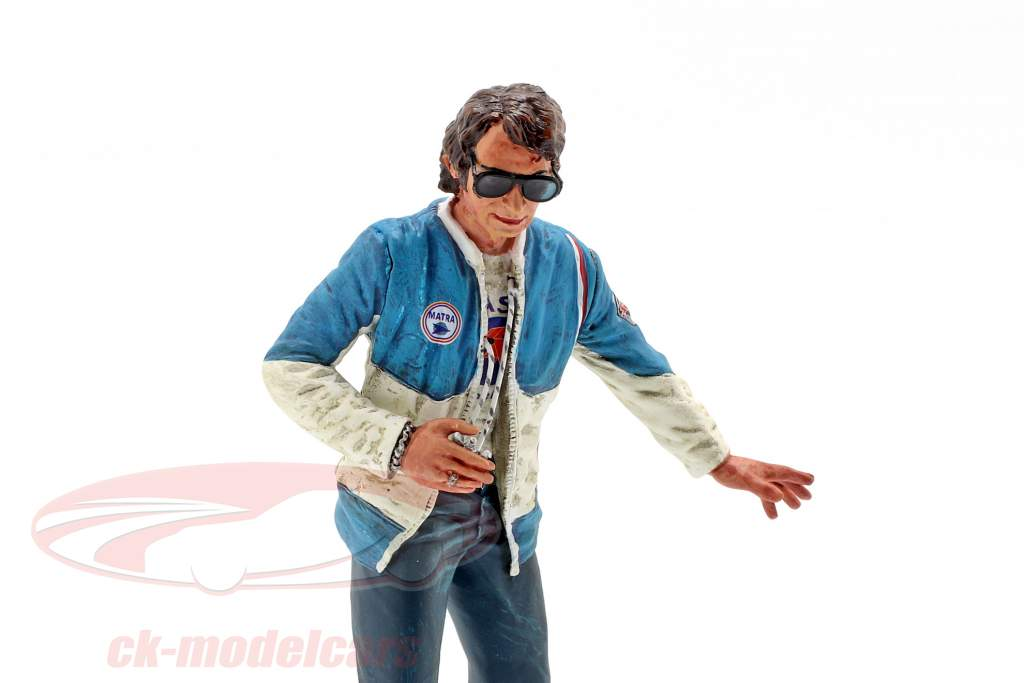 Gerard Ducarouge Team Manager Matra 1970 Figur 1:18 LeMansMiniatures