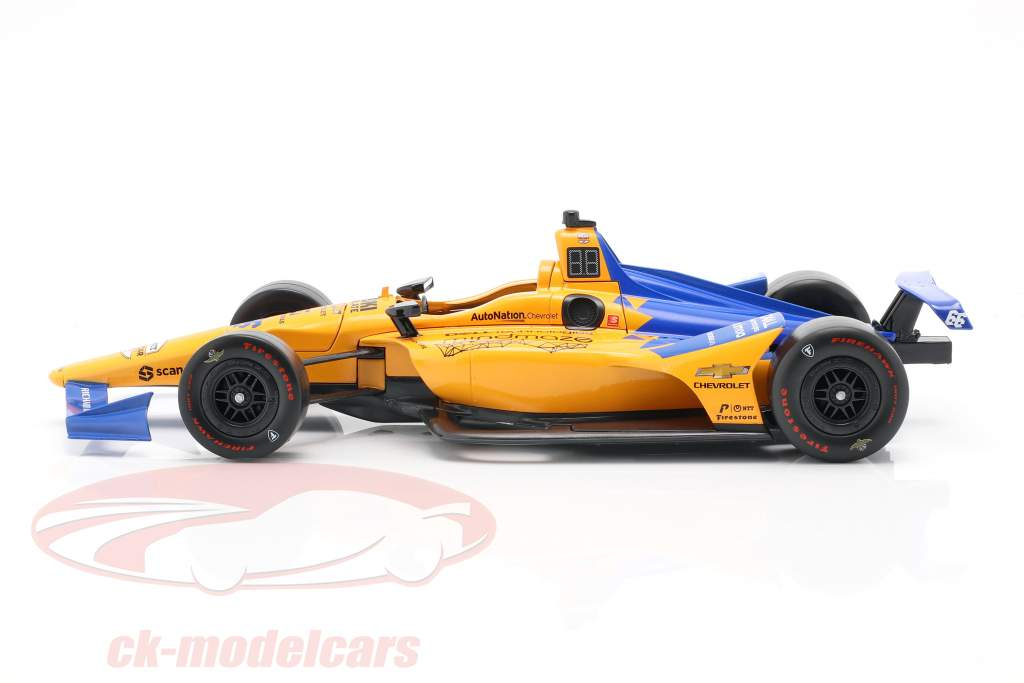 Fernando Alonso Chevrolet #66 IndyCar Series 2019 qualificatif McLaren Racing 1:18 Greenlight