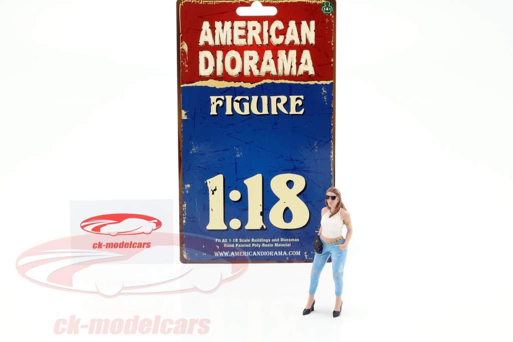 Ladies Night Sara cifra 1:18 American Diorama