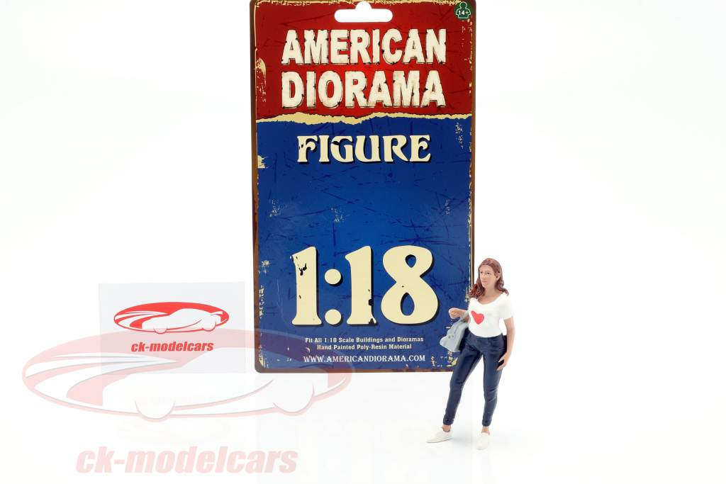 Ladies Night Elle figuur 1:18 American Diorama