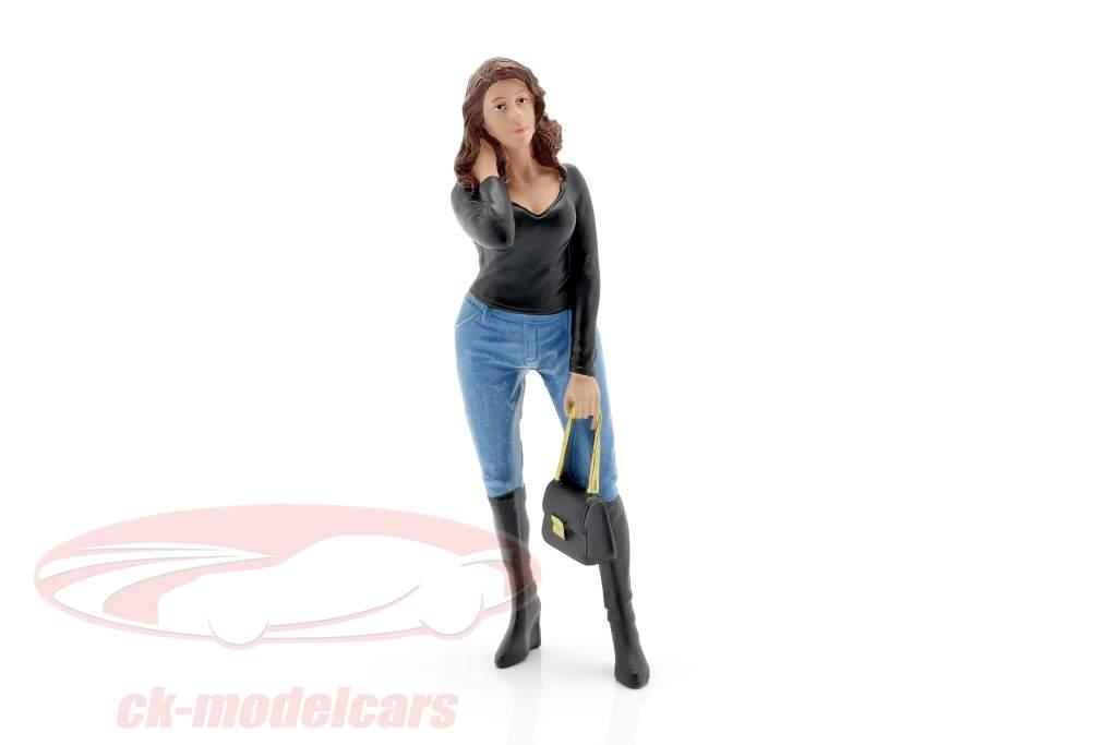 Ladies Night Lindsay figuur 1:18 American Diorama