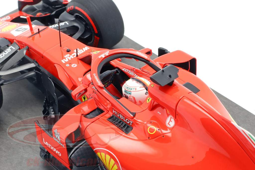 S. Vettel Ferrari SF71H #5 50a GP victoria ganador Canadá GP fórmula 1 2018 1:18 BBR