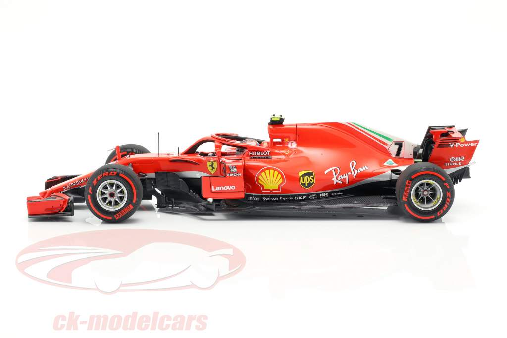 Kimi Räikkönen Ferrari SF71H #7 Canada GP formel 1 2018 1:18 BBR