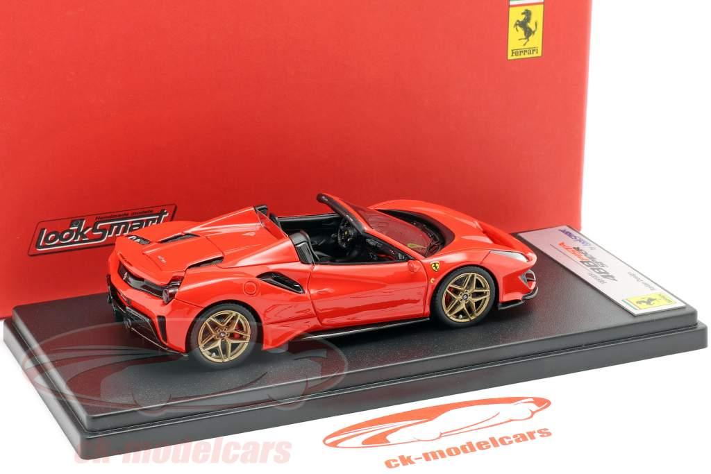 Ferrari 488 Pista Spyder year 2018 red 1:43 LookSmart