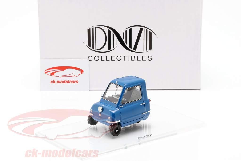 Peel P50 Bouwjaar 1964 blauw 1:18 DNA Collectibles