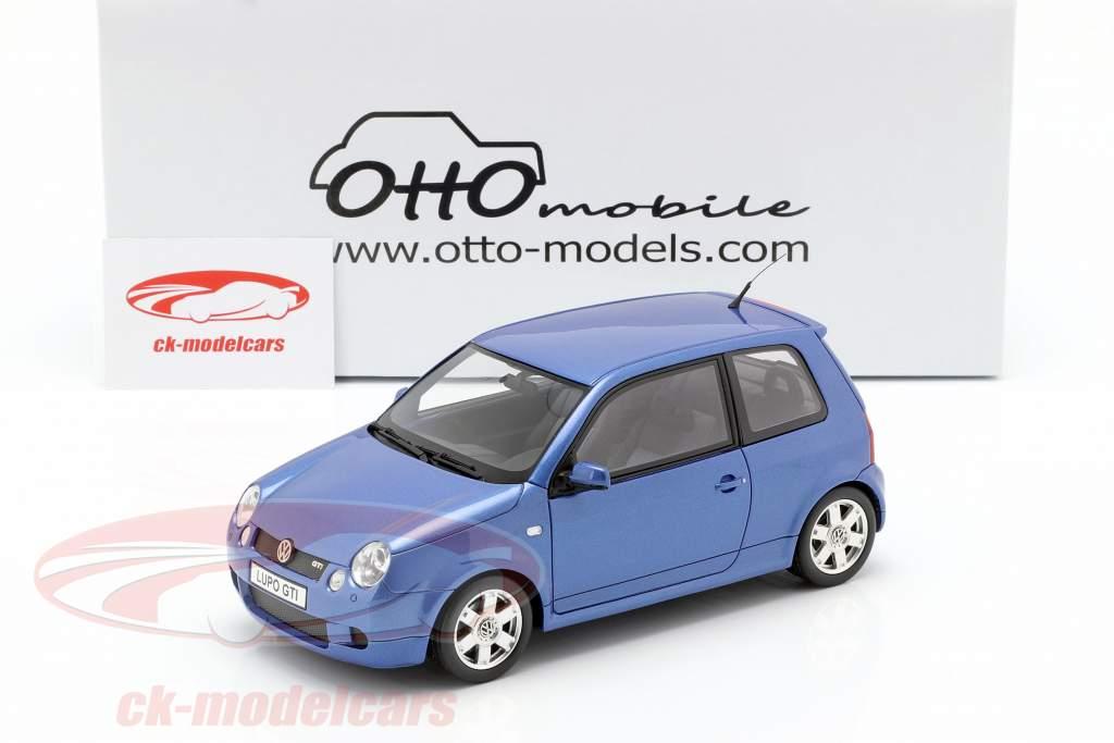 Volkswagen VW Lupo GTI année de construction 2000 bleu métallique 1:18 OttOmobile