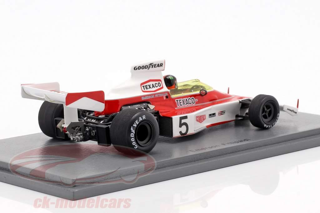 Emerson Fittipaldi McLaren M23 #5 World Champion monaco GP formula 1 1974 1:43 Spark