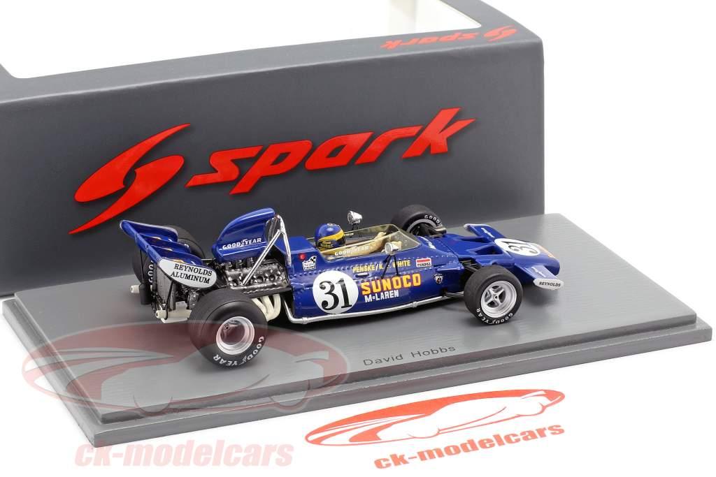 David Hobbs McLaren M19A #31 Stati Uniti d'America GP formula 1 1971 1:43 Spark