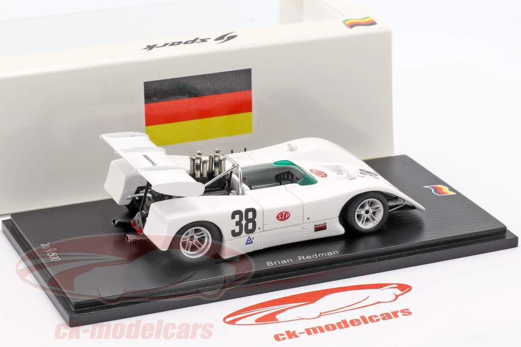 BRM P167 #38 winnaar Interserie Hockenheim 1971 Brian Redman 1:43 Spark