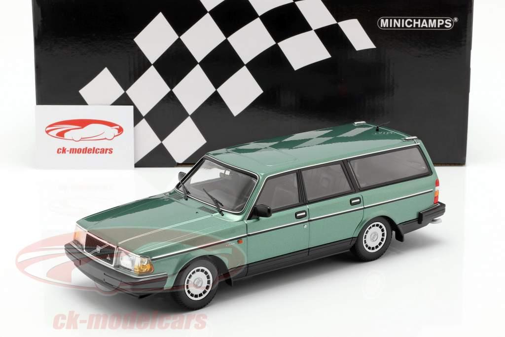 Volvo 240 GL Break Baujahr 1986 grün metallic 1:18 Minichamps