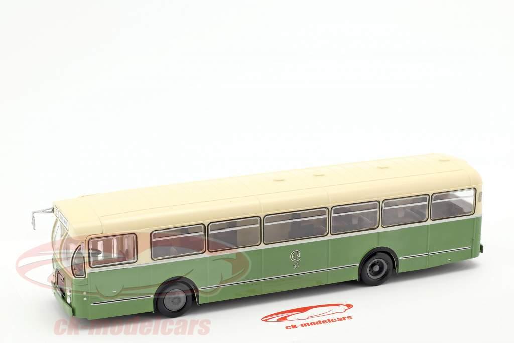 Brossel BL55 Valenciennes autobús Francia año de construcción 1966 1:43 oliva / crema Altaya