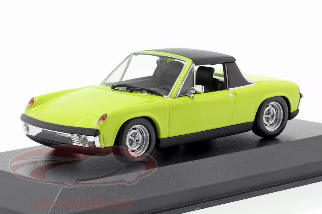 Volkswagen VW-Porsche 914/4 year 1972 green 1:43 Minichamps