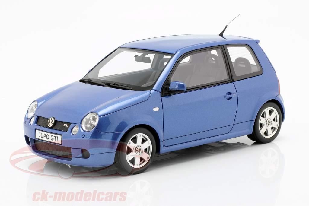 Volkswagen VW Lupo GTI anno di costruzione 2000 blu metallico 1:18 OttOmobile