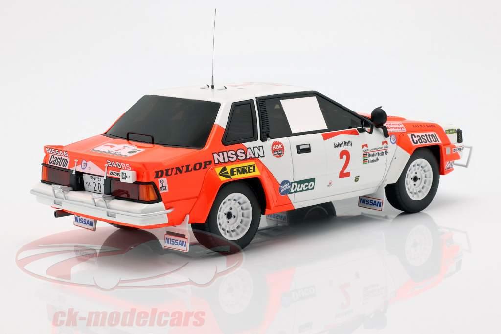 Nissan 240 RS #2 Rallye Safari 1984 Mehta, Combes 1:18 OttOmobile