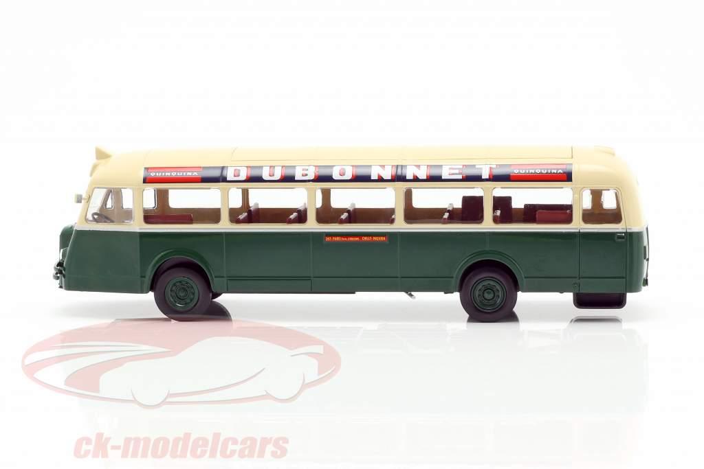 Chausson AP-47 RATP bus Frankrijk Bouwjaar 1947 donkergroen / crème 1:43 Altaya