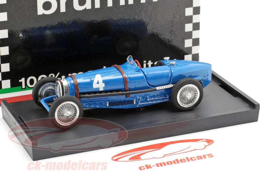 Rene Dreyfus Bugatti Type 59 #4 winnaar België GP formule 1 1934 1:43 Brumm