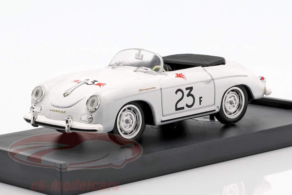 Porsche 356 Speedster #23F palma molas estrada raça 1955 James Dean 1:43 Brumm